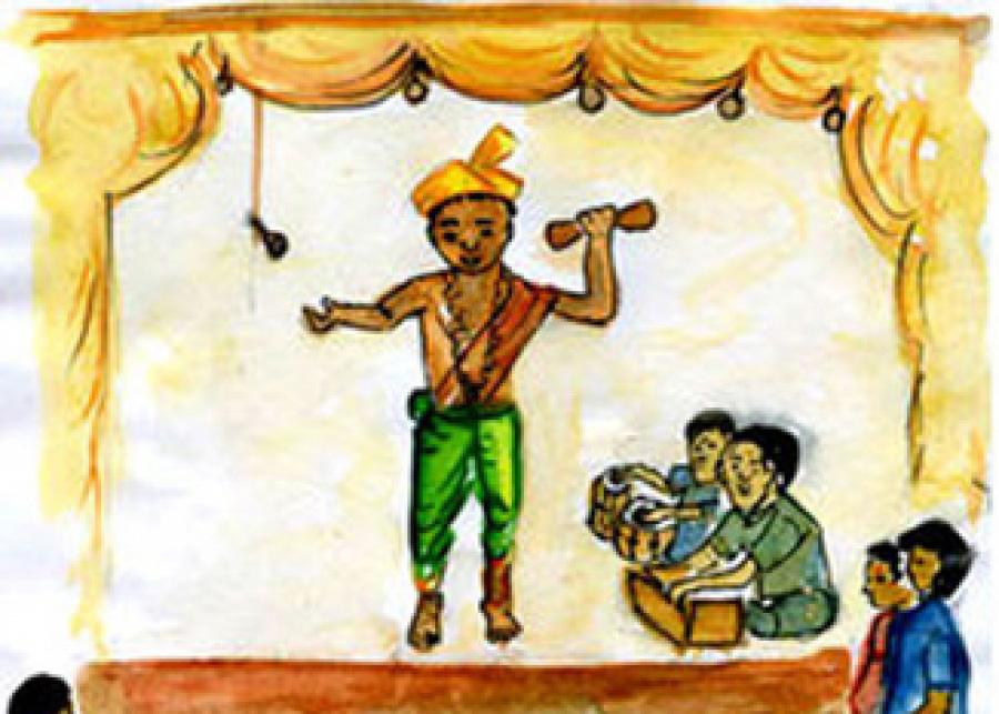 హరికథ-</br>ఆవిర్భావం